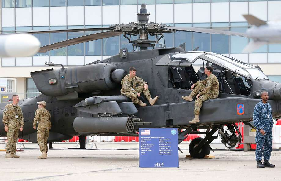 Great Rock Capital announced in April 2018 $200 million in new equity backing, with the Westport-based financier lending $23 million in March to PCX Aerostructures, a Newington company that makes parts for the Boeing Apache helicopter and other aircraft. (AP Photo/Jacques Brinon) Photo: Jacques Brinon / AP / AP