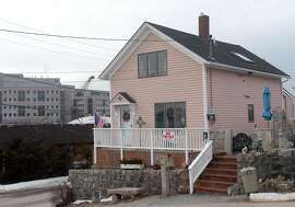 The home of Susette Kelo is shown in the Fort Trumbull section of New London Conn., in the Tuesday, Feb. 8, 2005 file photo. Kelo is one of several property owners in the area refusing to sell or leave their properties to make way for additional development. Alarmed by the prospect of local governments seizing homes and turning the property over to developers, lawmakers in at least half the states are rushing to blunt June's U.S. Supreme Court ruling expanding the power of eminent domain. (AP Photo/Jack Sauer)