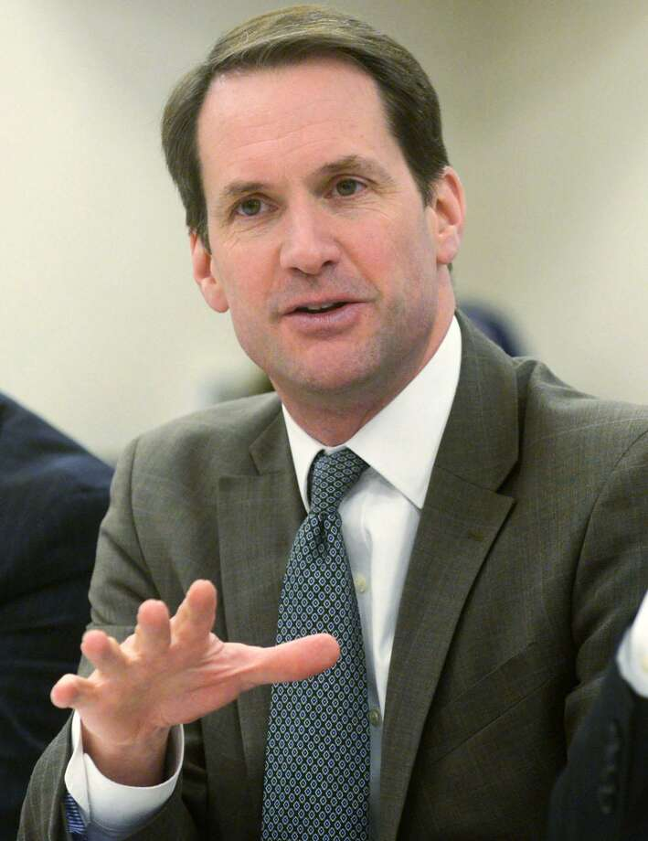U.S. Rep. Jim Himes has a $2.6-million re-election warchest, according to the latest filings with the Federal Election Commission. Photo: Erik Trautmann / Hearst Connecticut Media / Norwalk Hour