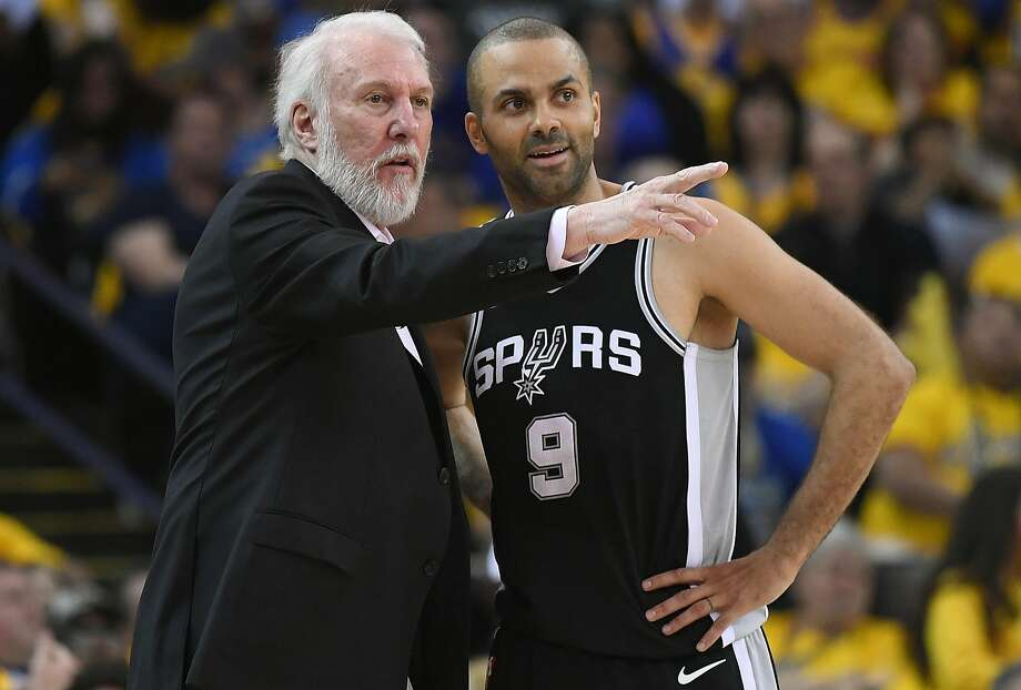 Head coach Gregg Popovich has a reputation as a curmudgeon who treats TV sideline reporters with contempt,but that's one small aspect of his personality. Photo: Thearon W. Henderson, Getty Images