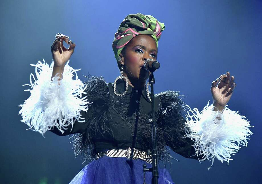 CLEVELAND, OH - APRIL 14:  Recording artist Lauryn Hill pays tribute to Nina Simone during the 33rd Annual Rock & Roll Hall of Fame Induction Ceremony at Public Auditorium on April 14, 2018 in Cleveland, Ohio. Photo: Theo Wargo, Getty Images For The Rock And Roll Hall Of Fame / 2018 Getty Images
