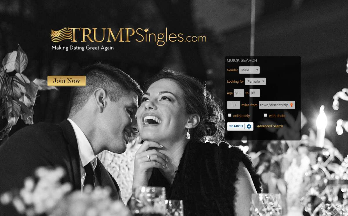 """Dating can be hard, but with these sites, you can meet someone who fits even your most specific needs. Trumpsingles.com For those singles out there looking to """"make dating great again."""""""