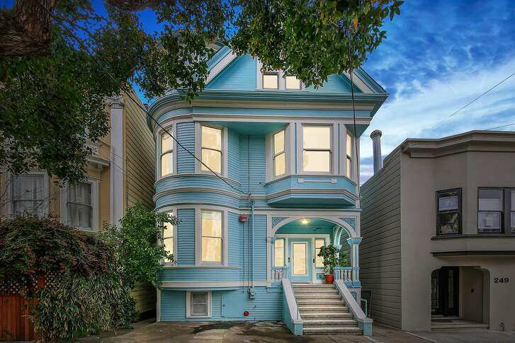 255 10th Ave. in Inner Richmond is a seven-bedroom Queen Anne Victorian available for $2.595 million.�