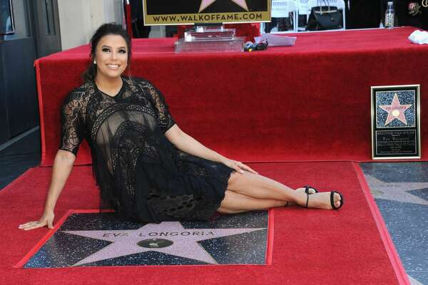 HOLLYWOOD, CA - APRIL 16:  Actress  Eva Longoria Honored With Star On The Hollywood Walk Of Fame on April 16, 2018 in Hollywood, California.  (Photo by Albert L. Ortega/Getty Images)