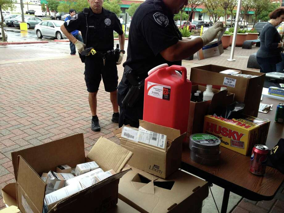 The Coalition of Behavioral Health Services and Precinct 1 of the Harris County Constableâ??s Office partnered with the Drug Enforcement Administration for the fifth nationwide takeback of unwanted, unused, and expired medications on Sept. 29, 2012, by hosting a site at the Spring Branch campus of Houston Community College. Pharmaceuticals collected there amounted to 240 pounds out of the total Houston area collection of 5,057 pounds â?? all within four hours. Photo: Submitted / Internal