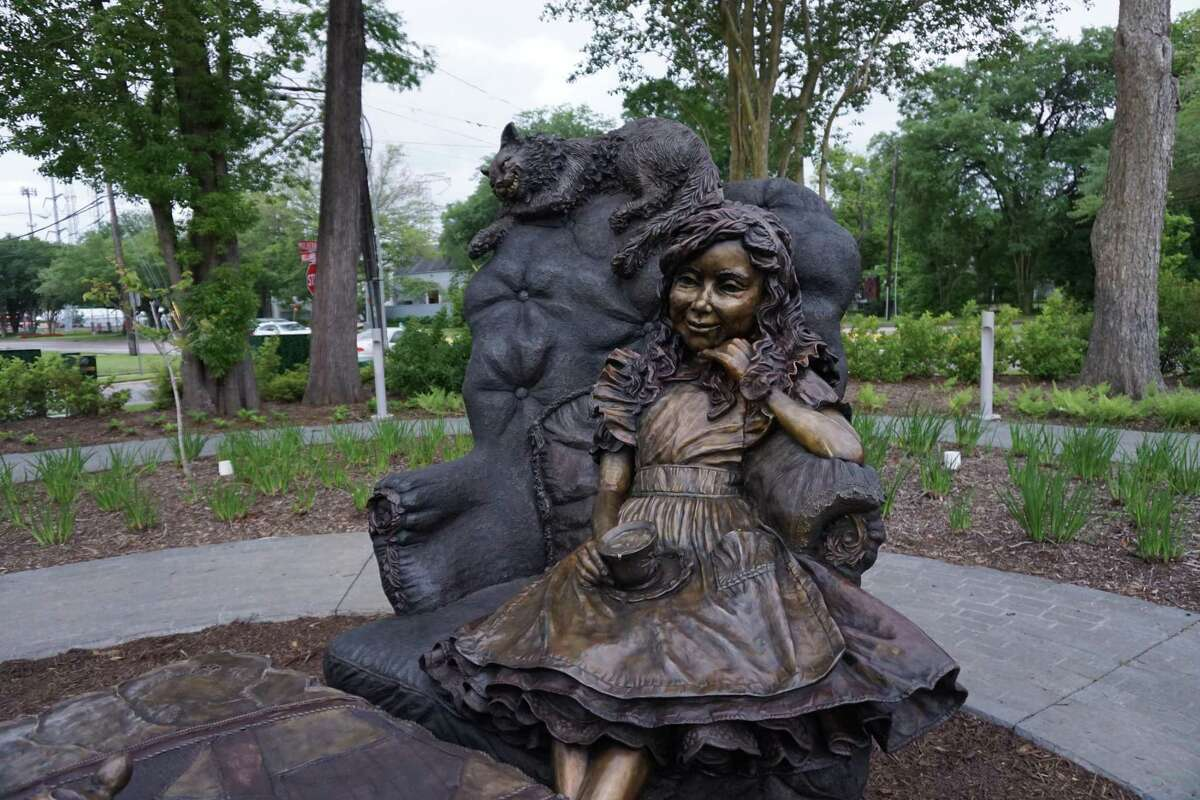 Families can picnic and interact with the new sculpture at Evelyn's Park.