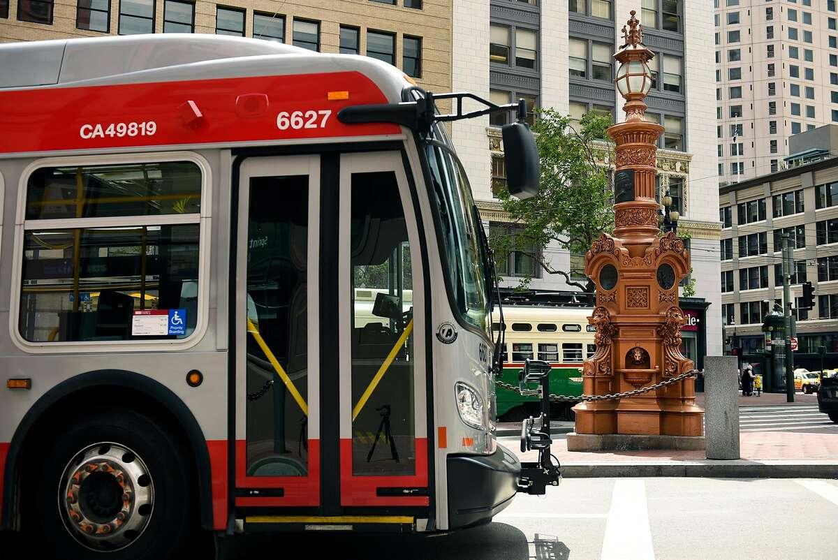 Public transit- San Francisco One trip on Muni will cost you $2.50.