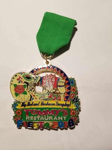 2018 San Antonio Fiesta Medal SA Vintage Expo Space Invaders
