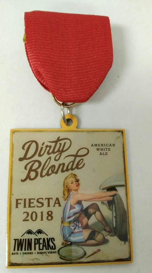 Twins Peaks Fiesta Medal, $10, available at area restaurants. Photo: Courtesy, Courtesy/SAEN
