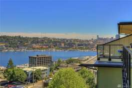 High ceilings and open living abound in this single-level condo with ample views, to boot. Gaze out on Lake Union from Gas Works to downtown, from the top floor, with kitchen rocking granite and a gas fireplace.   655 Crockett St., Unit B504, listed for $549,757. See the full listing below.