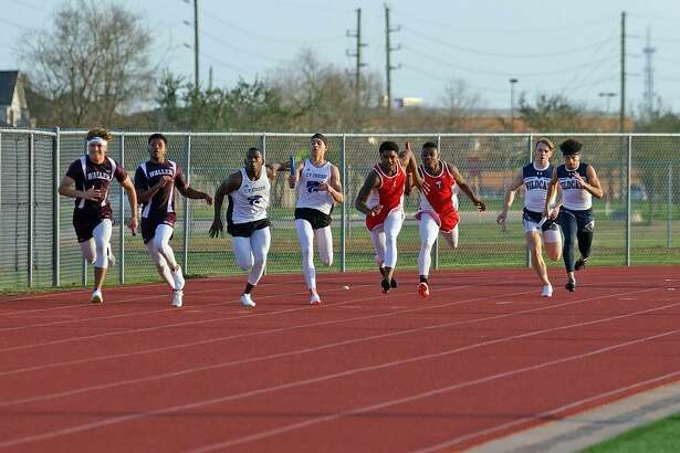 The Tomball Memorial 4x100 meter relay team placed first (42.13), the 4x200 first (1:30.20) and 4x400 first (3:25.43) at the UIL District 20-5A Track and Field meet, April 4-5, at Brenham High School.