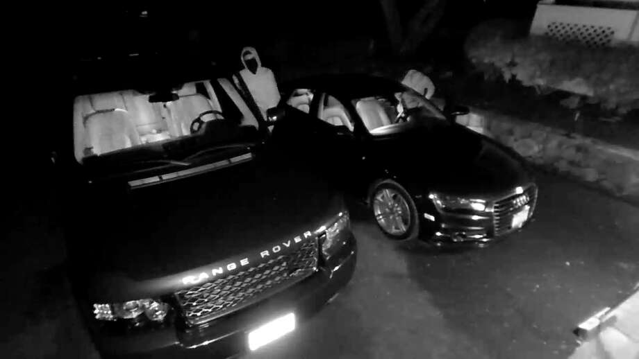 New Canaan police say an unlocked Audi A7 was stolen from a driveway on April 17, 2018. Police say the owner left the keys in the car. Photo: Courtesy New Canaan Police Department
