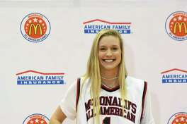 Cy Woods' Catherine Reese, University of Arizona signee, received honors as a McDonald All American basketball player, Feb. 13, at Cy Woods High School. She averaged 31 points and 15 rebounds per game as a senior, passing the 2,000-point mark for her career and breaking the all-time scoring record.
