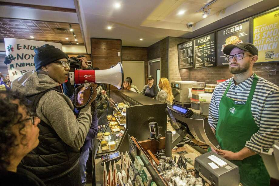 """Starbucks is closing some 8,000 stores to give """"implicit bias training"""" to employees. Even though we are not aware of them, implicit biases lead to discriminatory behaviors and biased decisions. Photo: JESSICA GRIFFIN, MBR / TNS / Philadelphia Inquirer"""