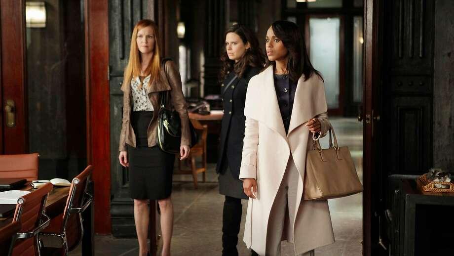 "Kerry Washington takes a final turn as Olivia Pope when ""Scandal"" wraps up its final season Thursday, April 19. Photo: ABC / TNS"
