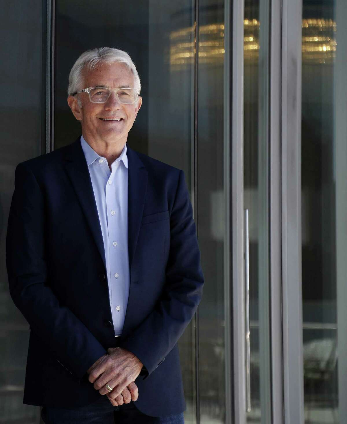 Houston Exponential's new Executive Director Russ Capper, Monday, April 16, 2018, in Houston. ( Karen Warren / Houston Chronicle )