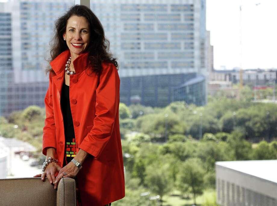 Gina Luna, chair of Houston Exponential,  Monday, April 16, 2018, in Houston.   ( Karen Warren / Houston Chronicle ) Photo: Karen Warren, Staff / Houston Chronicle / © 2018 Houston Chronicle