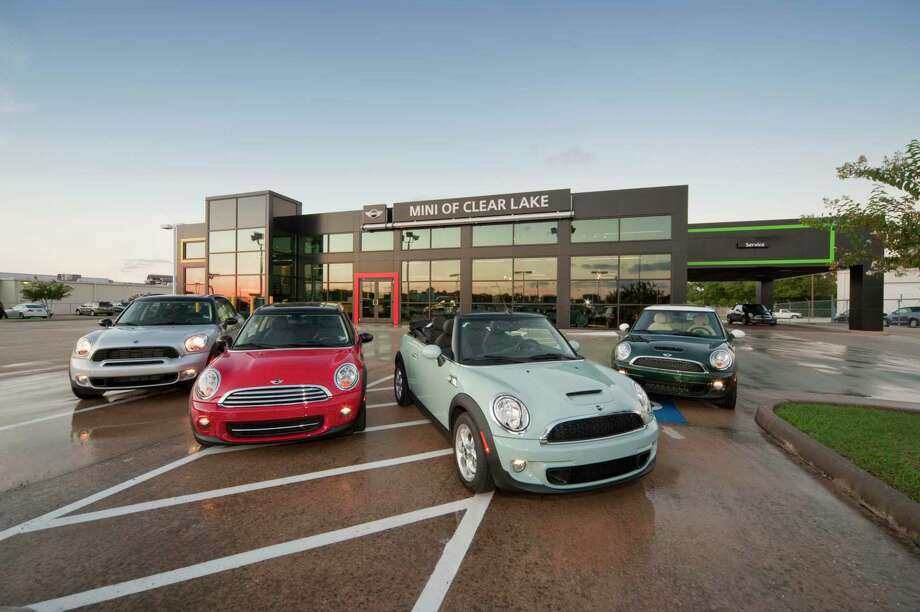 Group 1 Automotive, the nation's third-largest dealership group, reported record revenue last quarter amid an uptick in new vehicle sales. Pictured here: A Group 1 Auto MINI dealership outside of Houston. Photo: Group 1 Automotive