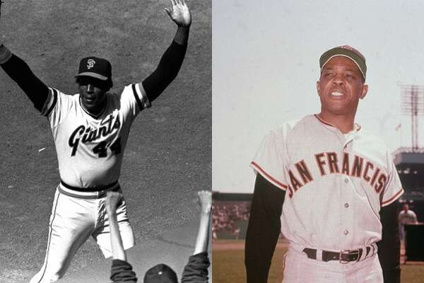 Willie McCovey vs. Willie Mays  