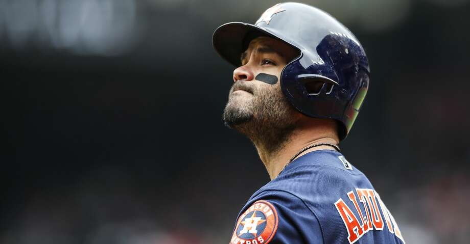 PHOTOS: Jose Altuve's top 7 moments Tuesday against the Mariners, when he hit second and trotted to second base, was Jose Altuve's 1,000th game as an Astro. Browse through the photos to see the top 7 moments of Jose Altuve's Astros career. Photo: Brett Coomer/Houston Chronicle