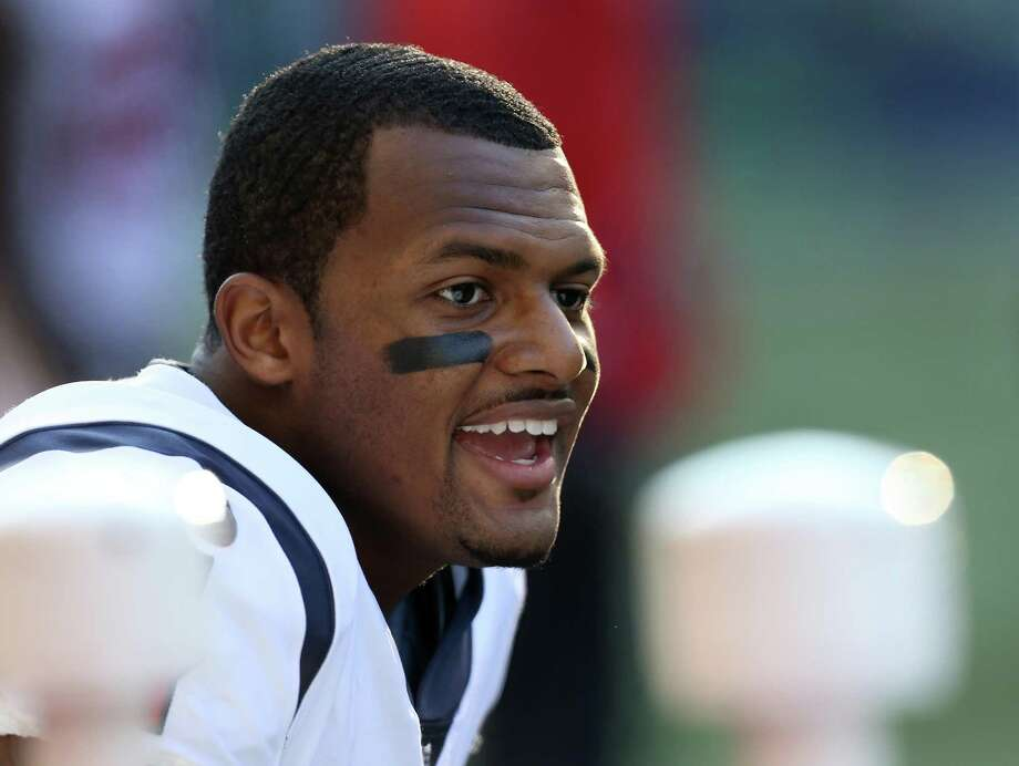 DeShaun Watson's 19 TD passes are the most for any quarterback in his first 17 NFL games. Photo: Godofredo A. Vasquez, Houston Chronicle / Houston Chronicle / Godofredo A. Vasquez