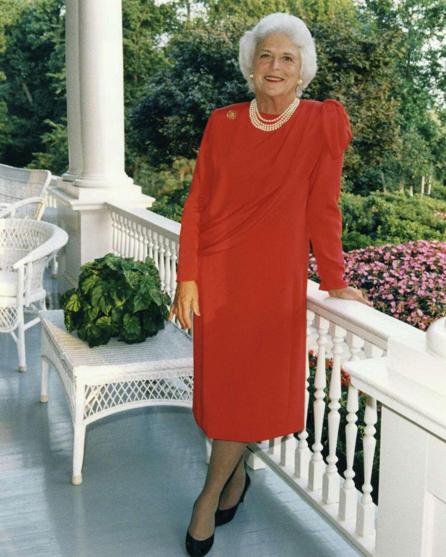 Barbara Bush in September 1985.