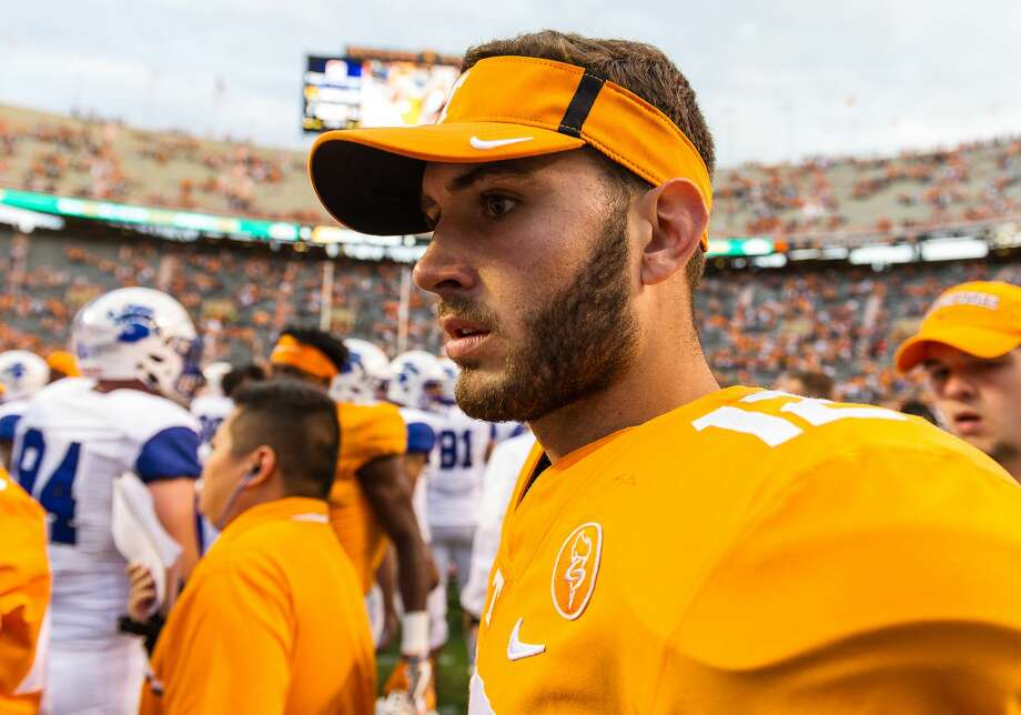 Tennessee transfer Quinten Dormady is the latest addition to the University of Houston's football program from a Power Five school. Photo: Icon Sportswire/Icon Sportswire Via Getty Images