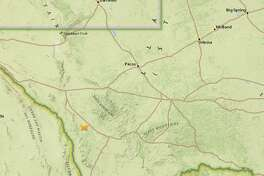 A 2.8 magnitude earthquake took place at about 2:54 a.m. Monday, about 29 miles west-northwest of Marfa, according to the USGS.