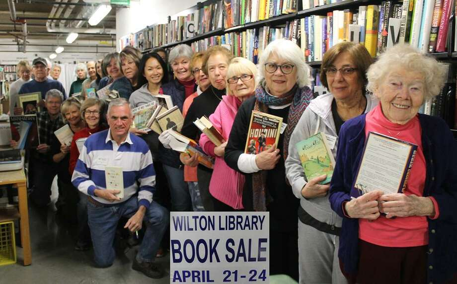 Wilton Library's Annual Gigantic Book Sale fundraiser takes place Saturday, April 21, 2018 through Tuesday, April 24, 2018 with more than 70,000 items. Photo: Contributed Photo / Contributed Photo / Norwalk Hour contributed