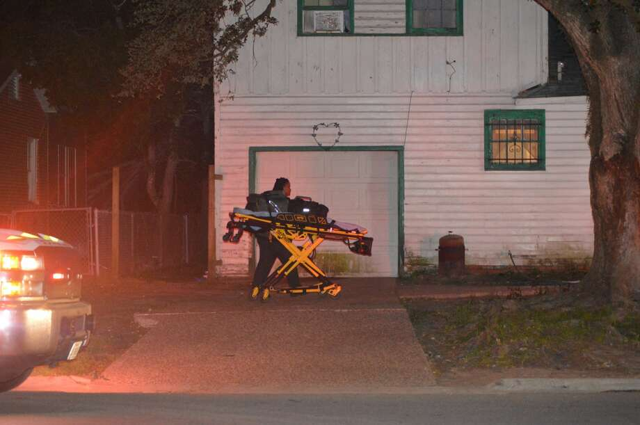 Photos from the stabbing of a woman in Orange Tuesday night. The woman was stabbed in the neck and airlifted to Christus St. Elizabeth Hospital. Photo provided by Eric Williams Photo: Photo Provided By Eric Williams