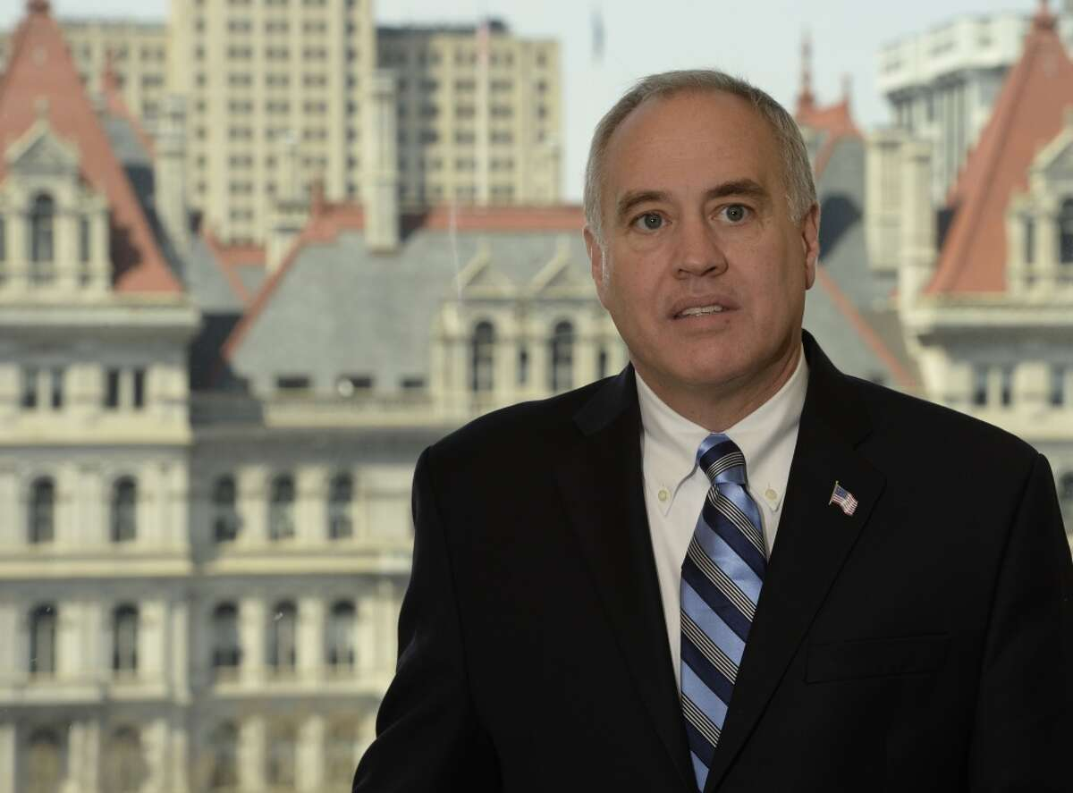 FILE - State Comptroller Tom DiNapoli
