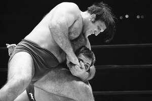 Bruno Sammartino held the WWE heavyweight championship belt for eight years in the 1960s.
