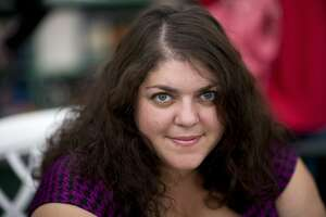 Author Randa Jarrar poses for a portrait  at The Hay Festival on May 30, 2010 in Hay-on-Wye, Wales. The Annual Hay Festival of Literature & Arts is held in Hay-on-Wye from May 27-June 6.
