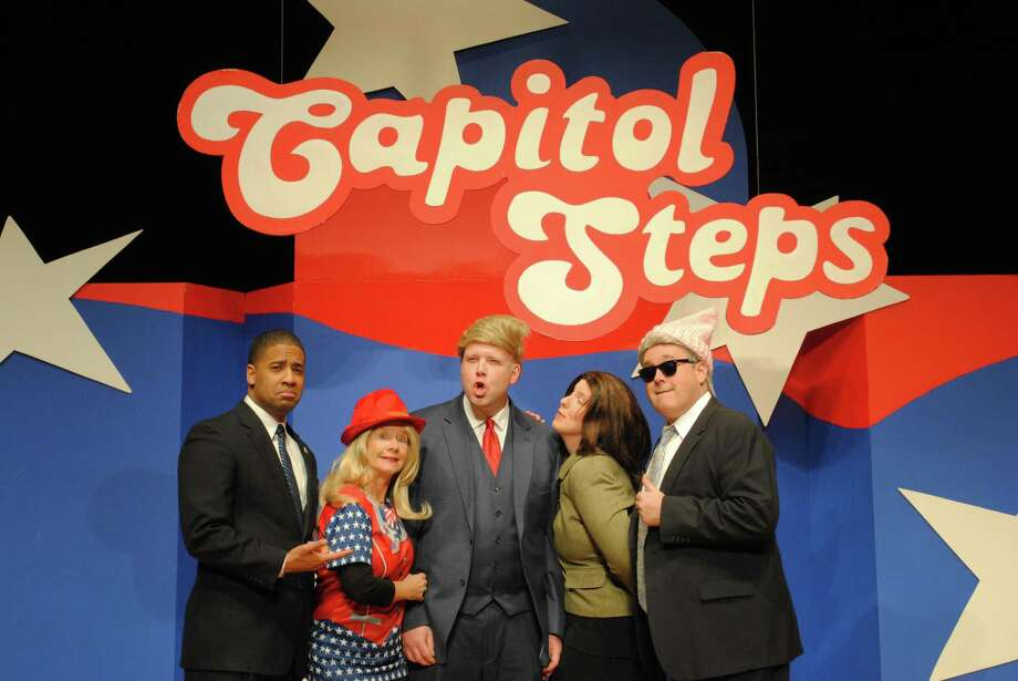 The political comedy show, The Capitol Steps, is coming to the Warner Theatre this weekend. Photo: Capitol Steps / Contributed Photo