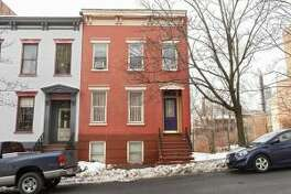 Albany Mayor Kathy Sheehan's new home in the Ten Broeck Triangle. (Times Union file photo.)