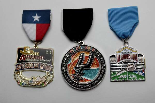 Fiesta Medal Winners 2018 In the sports category, the San Antonio Stock Show & Rodeo took top honors, second, San Antonio Spurs; third, Valero Alamo Bowl.