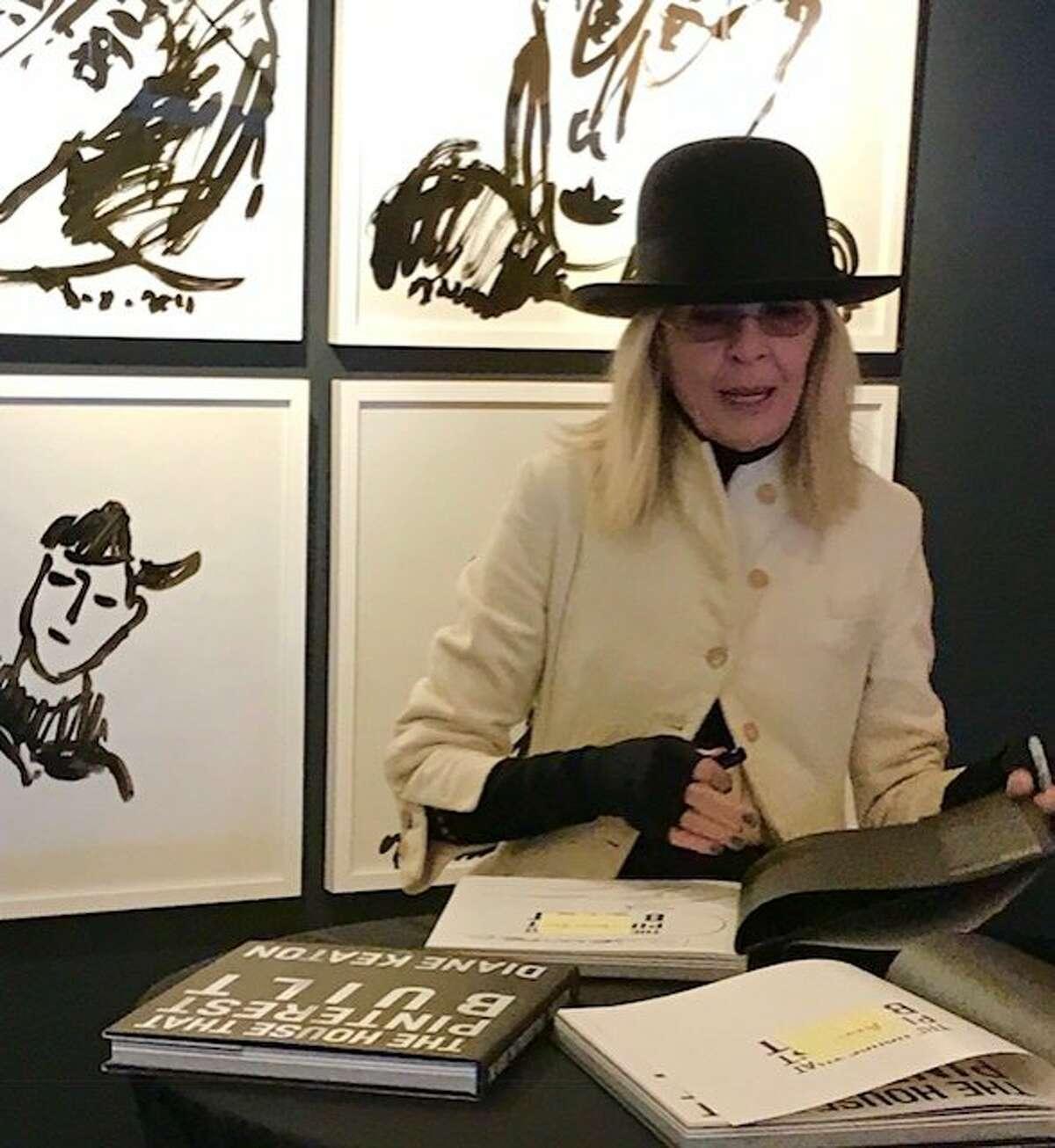 Diane Keaton at book signing at Hudson/Grace in San Francisco