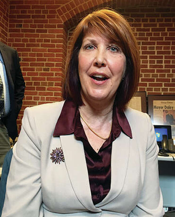 State Rep. Carol Sente, D-Vernon Hills, the sponsor of a proposal to ban Illinois children younger than 12 from playing tackle football speaks to reporters Wednesday in Springfield. Sente said the measure lacks the votes to pass this session. Photo:       Associated Press