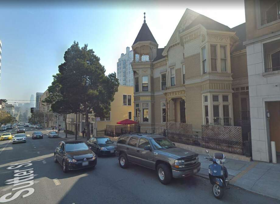 A view of Payne Mansion taken in October  2017. Built in 1881, it has served as one of the city's best examples of elaborate pre-1906 Victorian homes. Photo: Google Maps / Google