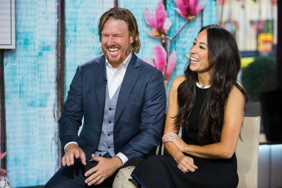 Chip and Joanna Gaines  on the TODAY show on Tuesday, October 17, 2017.