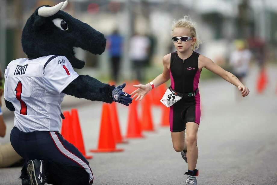 The 2018 Houston Texans Kids Triathlon will take place this weekend at the NRG Stadium. Photo: Michael Paulsen, Staff / Houston Chronicle / © 2012 Houston Chronicle