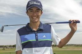 Lee golfer Paul Gomez. 04/18/18 Tim Fischer/Reporter-Telegram
