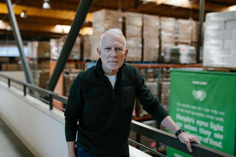 Paul Ash, head of the SF-Marin Food Bank, says the proposed rules in he Farm Bill would enlarge the ranks of the hungry. Photo: Mason Trinca / Special To The Chronicle 2017