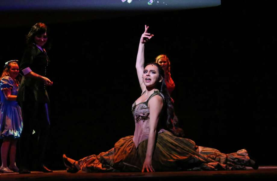 """Emily Mesa won the 2018 Tommy Tune Award for leading actress for her role as Esmeralda in Friendswood High School's """"The Hunchback of Notre Dame."""" Photo: Friendswood High School / Friendswood High School"""