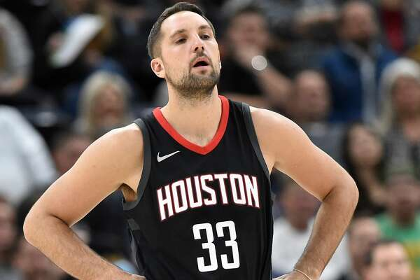 SALT LAKE CITY, UT - DECEMBER 7: Ryan Anderson #33 of the Houston Rockets looks on against the Utah Jazz during their game at Vivint Smart Home Arena on December 7, 2017 in Salt Lake City, Utah. NOTE TO USER: User expressly acknowledges and agrees that, by downloading and or using this photograph, User is consenting to the terms and conditions of the Getty Images License Agreement. (Photo by Gene Sweeney Jr./Getty Images)