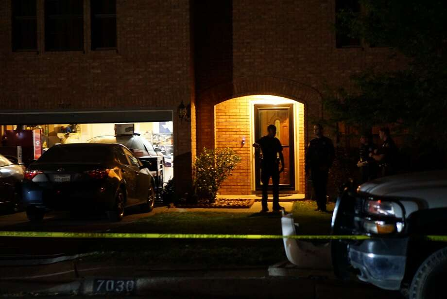A man is dead after police say he was shot by his own mother Wednesday night, April 18, on the North Side. Photo: Jacob Beltran