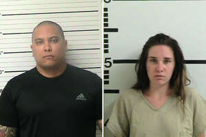 A Kerr County jailer was fired and arrested Tuesday for allegedly giving contraband to a female inmate, Amanda Hawkins.