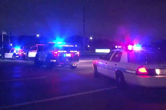 A man was hit by a car while crossing the intersection of Highway 6 and Barker Oaks Wednesday night, April 18, 2018. He died at the hospital.