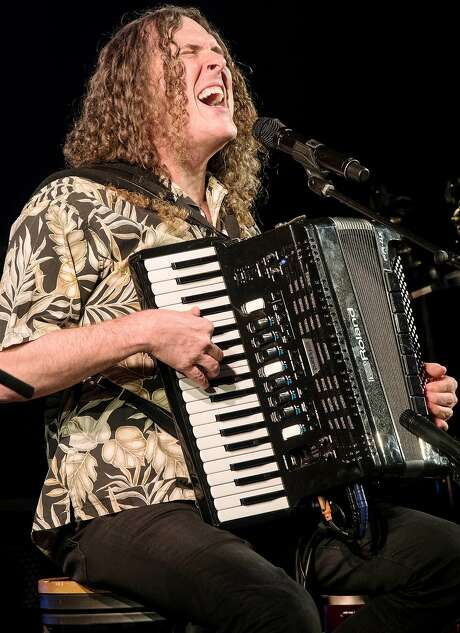 Weird Al Yankovic plays the Fox Theater in Oakland Saturday, with Emo Philips opening. Photo: Getty Images
