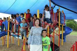 McMasters Elementary School principal Andrea Gilger has a bond with her students, and community; the long-time educator in PISD was recently named a Principal of the Year for primary schools.